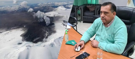 Los Antiguos: Convocan a comité de emergencia por el volcán Hudson