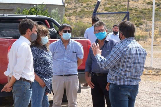 Caleta Olivia| Funcionarios del ENOHSA visitaron la Planta de Ósmosis