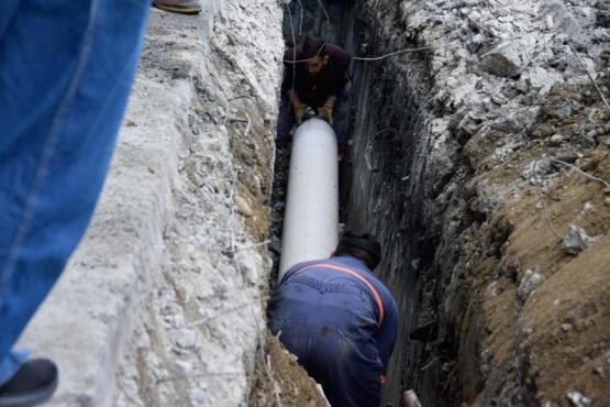 Río Gallegos| Avance en la obra de vinculación pluvial