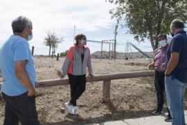 Caleta Olivia| Servicios refacciona la plaza del barrio Astra