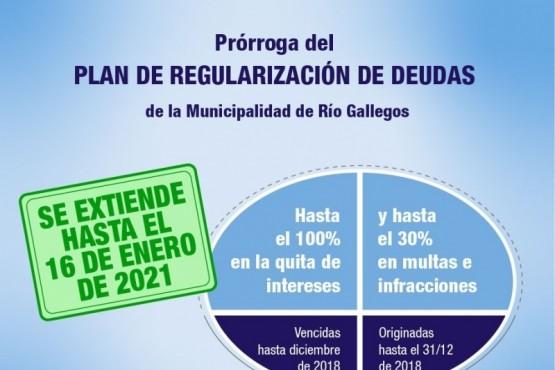 Río Gallegos| Se extiende hasta el 16 de enero el Plan de Regularización Tributaria