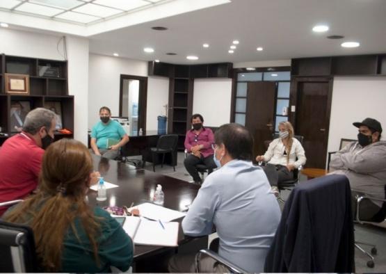 Caleta Olivia: reunión entre Gobierno y los asambleístas
