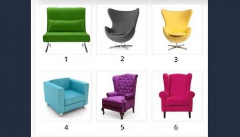 Dime qué sillón te atrae y te diré cuál es tu rol en la vida