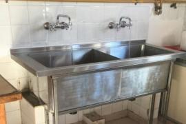 Chubut  El Gobierno realizó obras de refacción en la Escuela N° 7706 de Piedra Parada