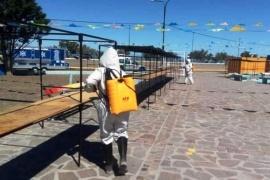 Rawson| Plan para mantener las condiciones sanitarias de plazas y espacios feriales