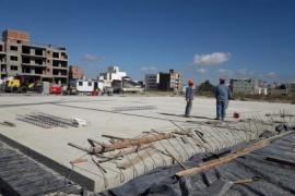 Puerto Madryn| Finalizó la construcción de la platea donde se instalará el Hospital Modular
