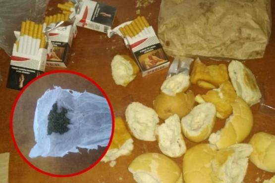 Caleta Olivia| Le llevó pan a su amigo preso y en el interior tenía marihuana