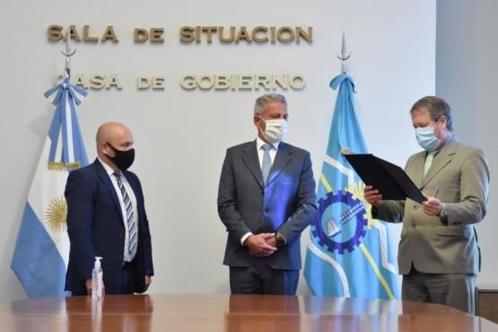El gobernador Arcioni retomó sus funciones
