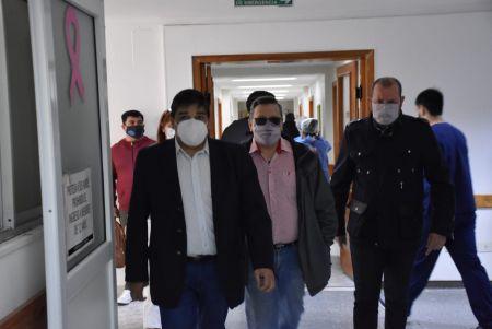 Santa Cruz  García acompañó la distribución de vacunas en Zona Centro
