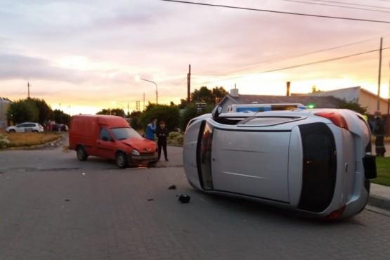 Río Gallegos| Lesionados tras choque y vuelco