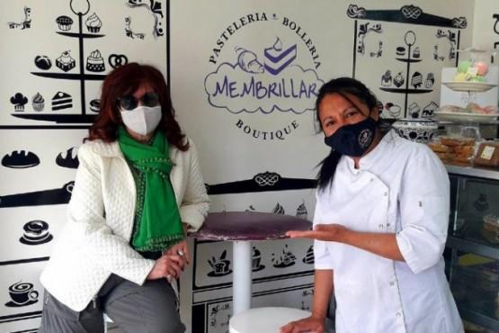 Cristina Fernández pasa unos días en El Calafate