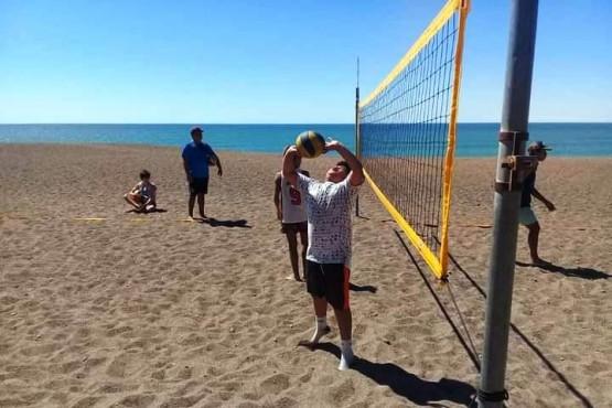 Talleres gratuitos para la práctica deportiva en Playa Unión