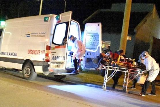 """Fue trasladado al Hospital Zonal """"Pedro Tardivo"""""""