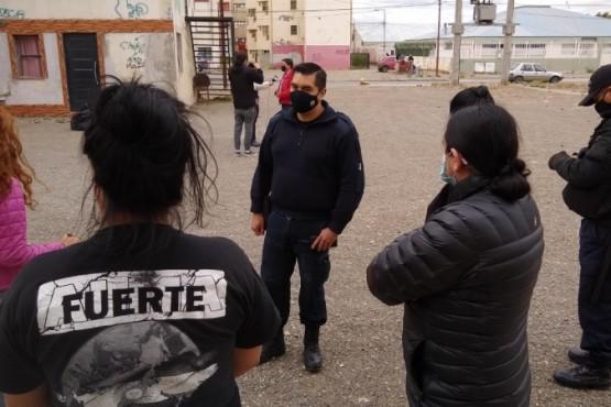 El hecho ocurrió en el barrio 120 Viviendas. (Foto: C.G.)