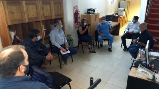 Puratich repasó la situación sanitaria con Directores de Hospitales Rurales
