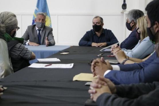 Arcioni recibió en Casa de Gobierno a la conducción de ATE