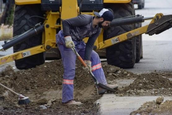 Comenzó última etapa de reparación de calle Zapiola