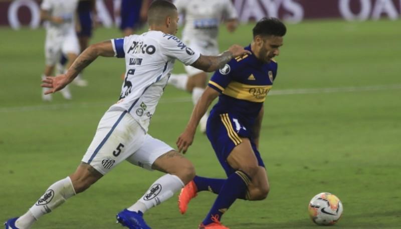 Boca perdió 3 a 0 frente a Santos en Brasil.