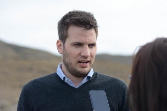 Secretario de Ambiente, Mariano Bertinat.