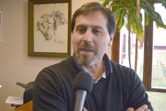 Néstor González, intendente Puerto Santa Cruz