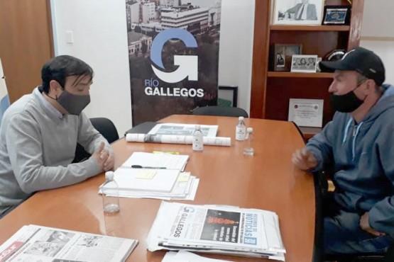 Reunión entre Pablo Grasso y Juan Romero