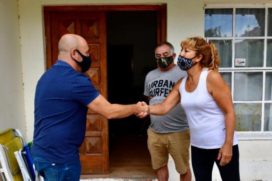 Sastre estuvo con los padres de Bruno Muñóz
