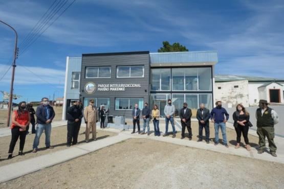 Inauguraron dependencias del Parque Interjurisdiccional Marino Makenke