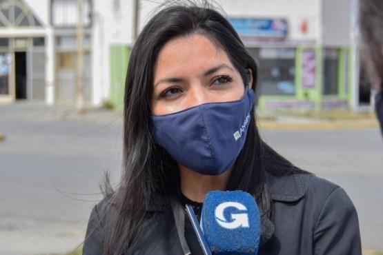 Soledad Allendez, Jefa de la UDAI Río Gallegos.