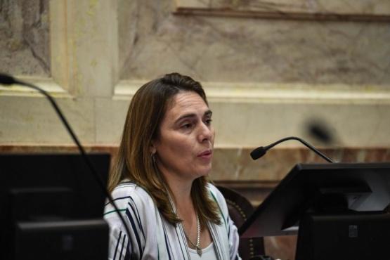Senadora nacional, María Belén Tapia