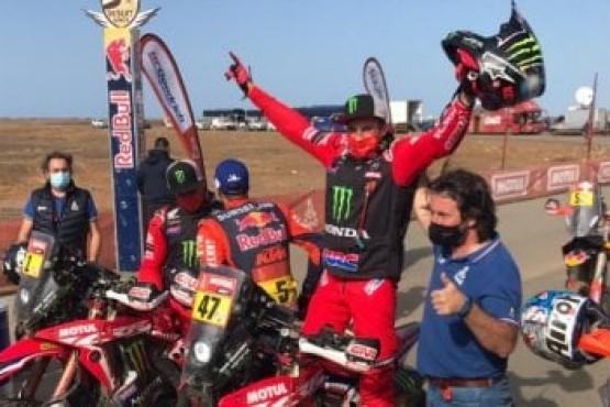 Kevin Benavides se consagró campeón en las motos