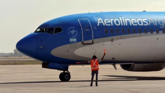 Llegó a Moscú el avión de Aerolíneas que traerá más vacuna