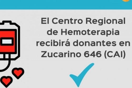 Río Gallegos | Realizarán colecta de sangre en el Centro de Atención Infantil