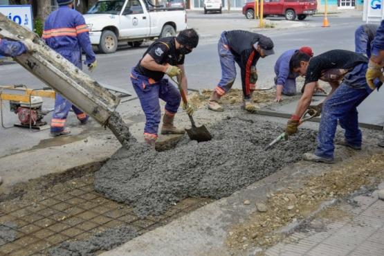Río Gallegos| Obras Públicas en distintos sectores de la ciudad