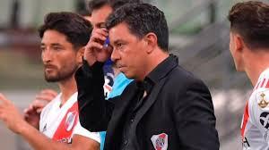 El DT de River Plate.