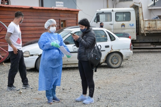 Río Gallegos| Trabajadores del municipio continúan realizándose los hisopados