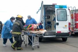 Río Gallegos| Hospitalizados tras choque