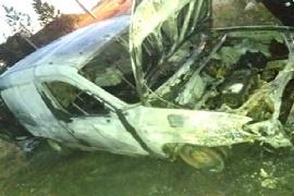 Río Gallegos| Se incendió un auto