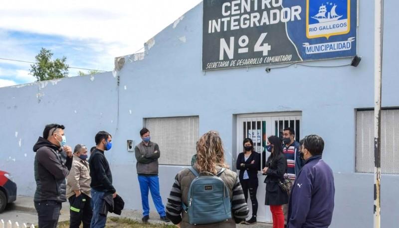 Río Gallegos  Empieza la semana de trabajo en barrios