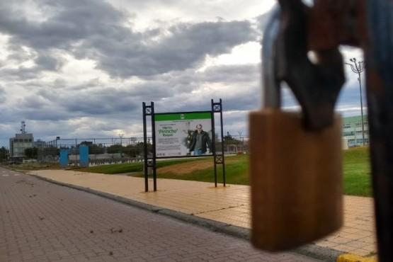 """Reabre el Parque """"Pirincho"""" Roquel de Río Gallegos. (C. González)"""
