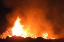 El Calafate| Provocaron cinco focos de incendio casi simultáneos