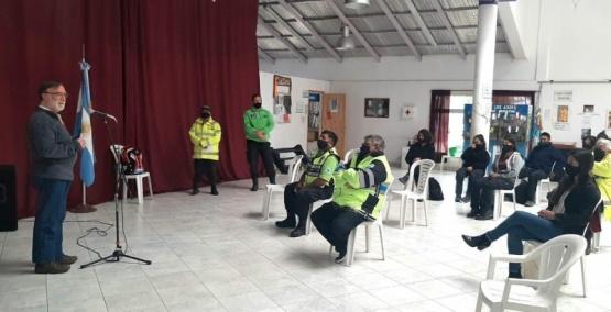 Lago Puelo: capacitación en seguridad vial a inspectores