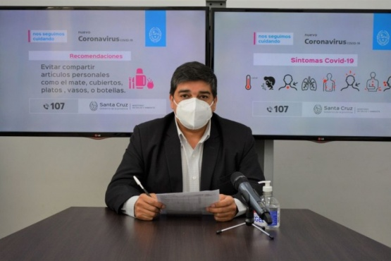 Mañana llegan mil dosis de la vacuna contra el coronavirus a Santa Cruz