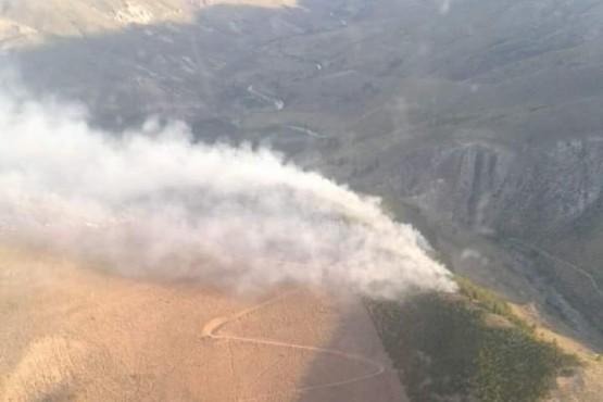 Chubut| Incendio forestal entre El Maitén y Ñorquinco