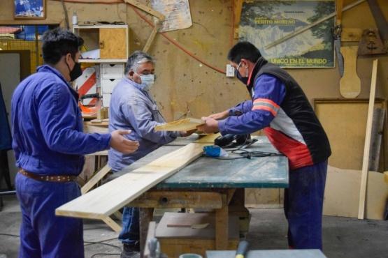 Río Gallegos| División Carpintería y Zinguería: un sector esencial en las tareas diarias