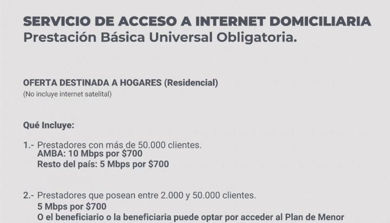 La PBU para servicios de telefonía móvil, fija, Internet y televisión por cable