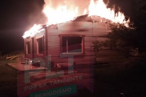 Bomberos controlaron incendio