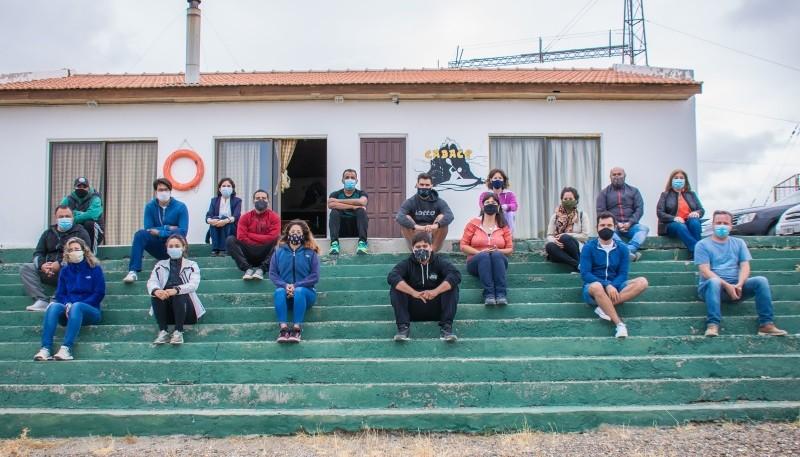 15 guardavidas participaron de la charla.