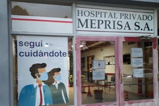 Los heridos fueron asistidos en el hospital.
