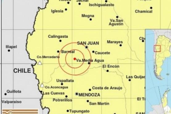 Se registró un fuerte sismo en San Juan, que se sintió en Mendoza, Córdoba y San Luis