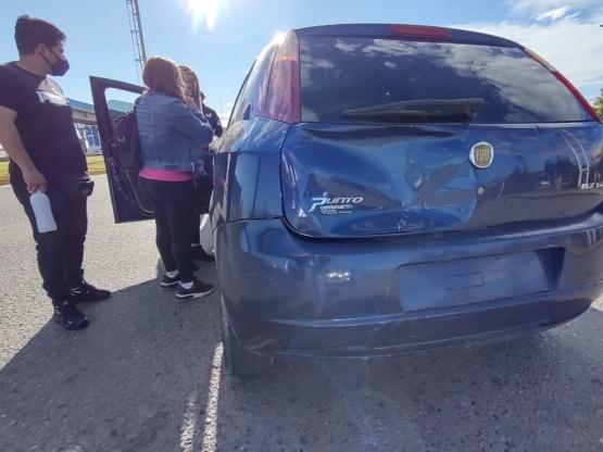 Río Gallegos| Dos personas trasladas al hospital en nuevo choque